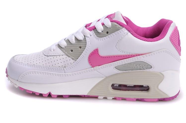 air max femme rose et blanche