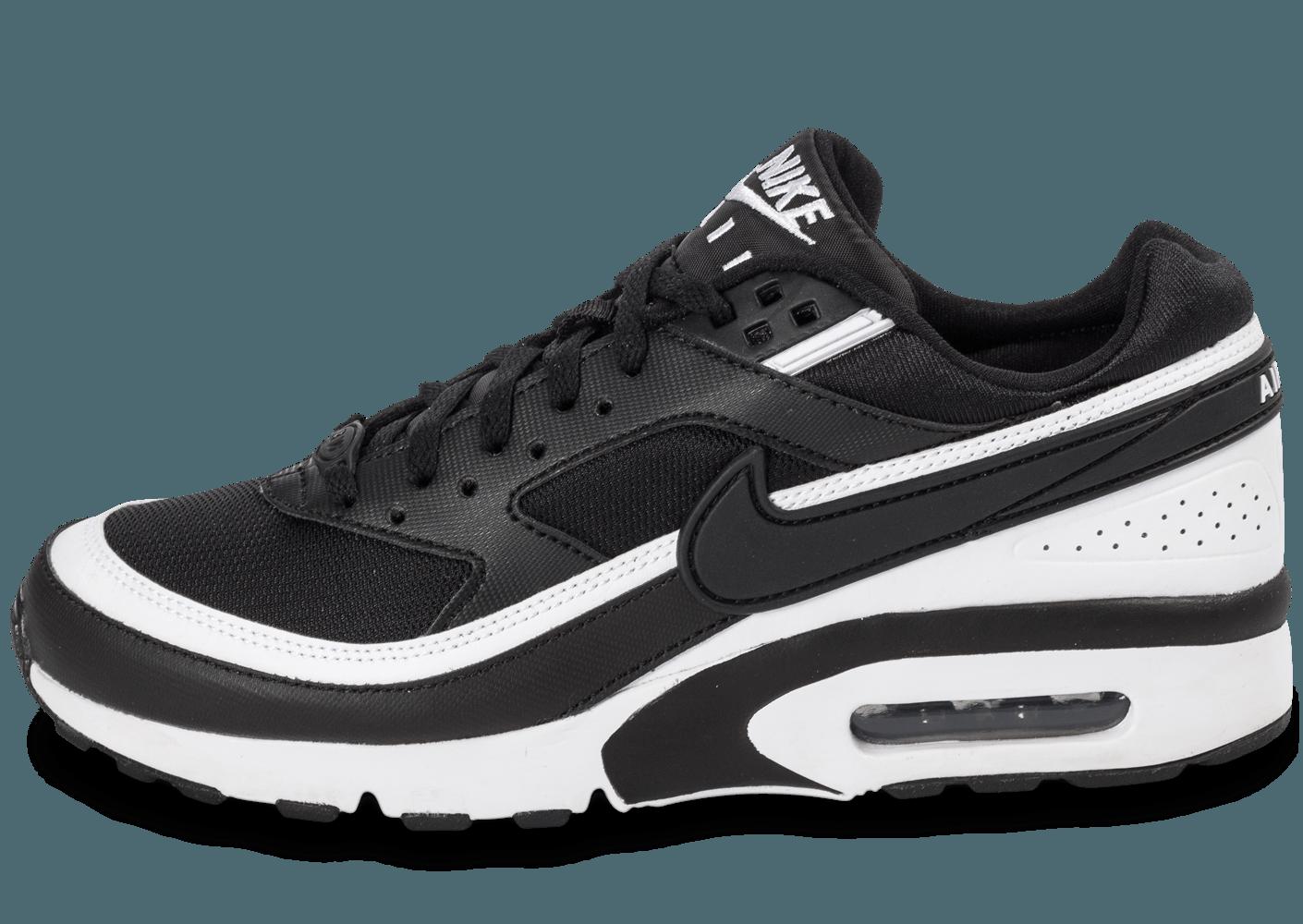 online store 792c1 9aaff Bon marché air max bw junior,nike air max classic bw outlet Bon marché et  bon 5mV0B54T ... Chaussures Nike Air Max BW Junior noire et blanche vue  arrière .