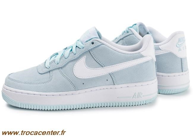 basket nike air force 1 bleu turquoise