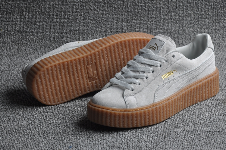 puma creepers grise pas cher
